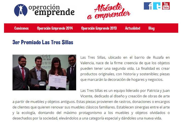 las_tres_sillas_3er_premio_operacion_emprende