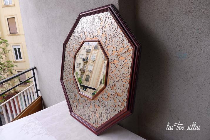 las_tres_sillas_espejo_octogonal_vintage_cobre_estaño (3)