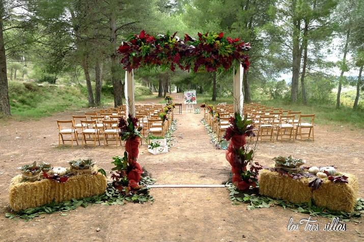 decoración de bodas y alquiler de muebles | las tres sillas