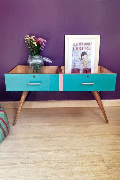 Muebles reciclados con cajones las tres sillas for Reciclado de muebles