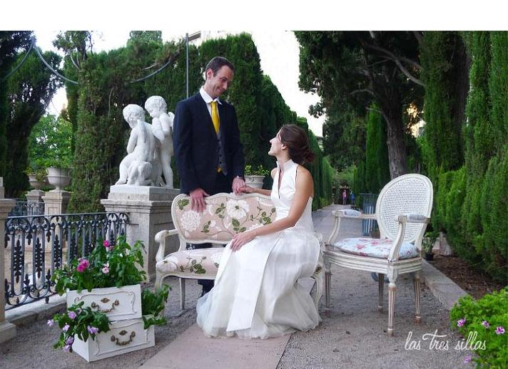 alquiler de muebles recuperados para bodas y eventos en valencia