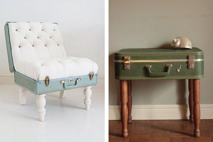C mo restaurar una maleta vintage para bodas y eventos for Alquiler muebles vintage