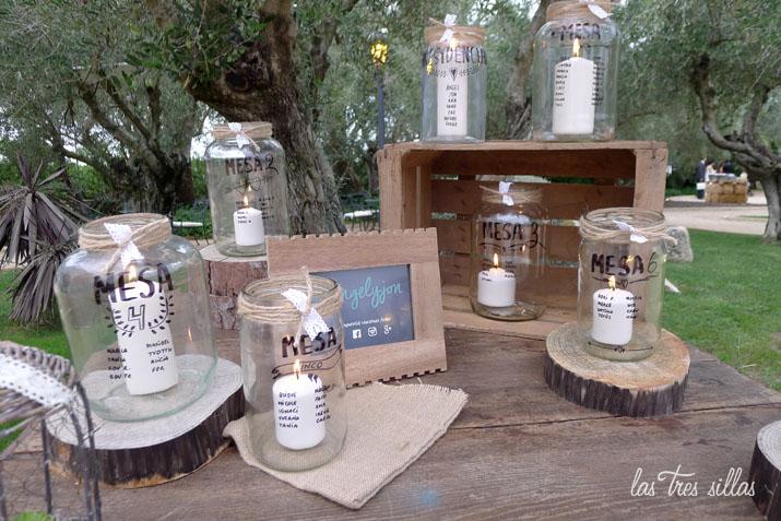 Ngel y jon una boda con muebles recuperados vintage en for Alquiler decoracion bodas