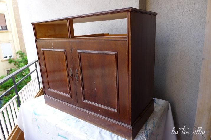 cmo hacer una chimenea decorativa a partir de un mueble recuperado