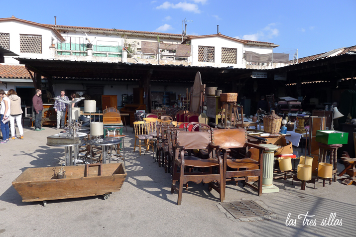 Mercantic el portobello road de los muebles restaurados - Mercado antiguedades barcelona ...