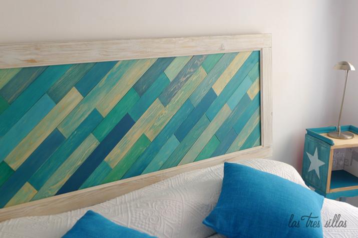 Decoraci n original con cabeceros de cama reciclados ii - Cabecero de cama original ...
