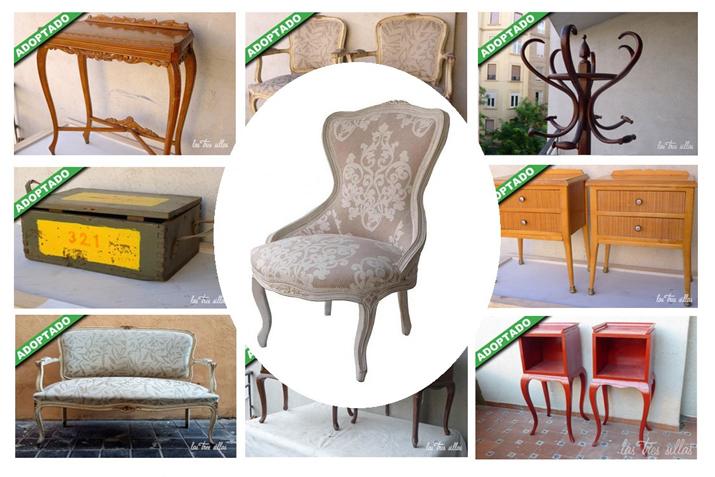 ADOPTA UN MUEBLE Muebles únicos en busca de un nuevo hogar  Las