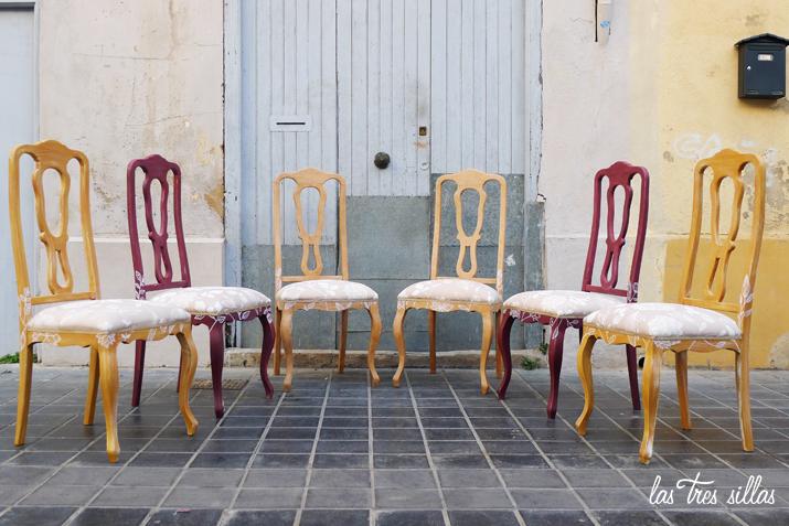 Muebles exclusivos para el hogar: UN COMEDOR CON SILLAS DIFERENTES ...