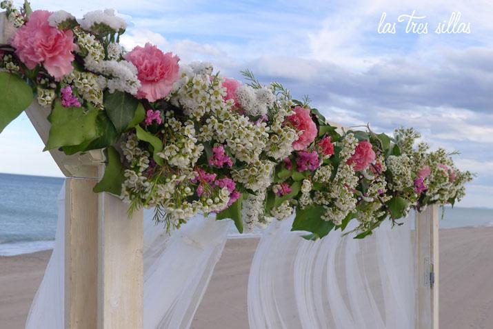 flores_arco_welc_las_tres_sillas_boda_playa_Valencia_elopement