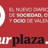 letrero culturPlaza de valencia Plaza